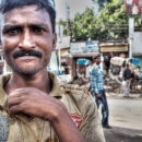 Man With A Troubled Face @ India