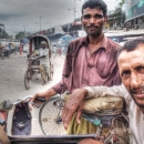Two Rickshaw Wallahs Looked At Me