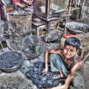 Boy Selling Coals