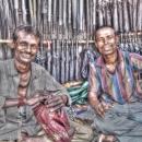 Umbrellas And Smiles @ India