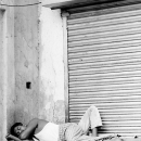 Nap In Front Of The Shutter @ India