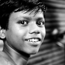 Smile Of A Young Man @ India