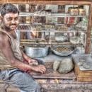 Man And Doughs @ India
