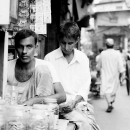Two Men In A Genaral Shop @ India
