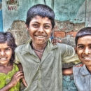Two Happy Boys And A Anxious Girl @ India