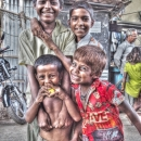 Smiling Boys In Malda @ India