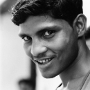 Man With A Mischievous Grin @ India