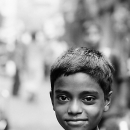 Daring Look Of A Boy @ India