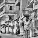 Basket On His Head @ Bangladesh