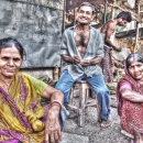 Three Persons By The Wayside @ India