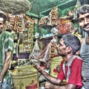 Three Men In A Shop @ India