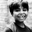 Boy Showed White Teeth @ India