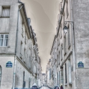 Cobblestone Lane Between Buildings @ France