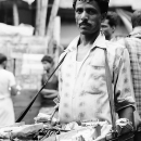 Man Selling Tobaccos @ India