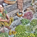 Vegetables And Woman @ India