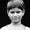 Thick-Lipped Boy @ India