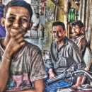 Boy In The Shop Smiles @ India