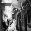Public Phone In The Dim Lane @ India