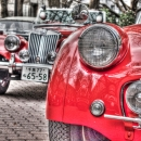 Red Classic Cars @ Tokyo