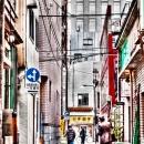 Alleyway In Jimbocho @ Tokyo