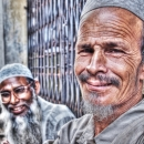 Two Men In Taqiyah