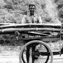 Cart And Man @ India