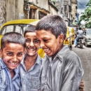Three School Boys @ India
