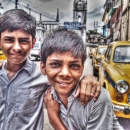 Taxis And Two Boys @ India