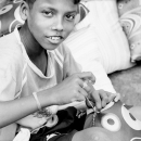 Sewing Boy @ India