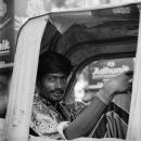 A Rickshaw Wallah @ India