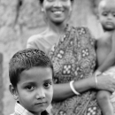 Boy And Mother @ India