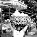 Big Basket On Her Head @ Indonesia