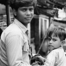 Man And His Son @ India