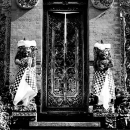 Door Flanked By Deities @ Indonesia