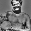 Man And Coconut