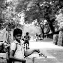 Boy And Bicycle @ India