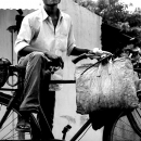 Man On The Bicycle @ India