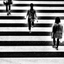 Three Women And White Lines