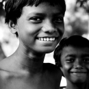 White Teeth Of A Boy @ India