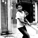 Boy Holding A Bat @ Nepal