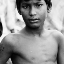 Portrait Of A Boy @ India