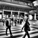 People In Front Of The Gate @ Tokyo