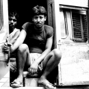 Two Men On The Truck @ India