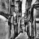Deserted Alleyway @ India