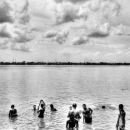 People In The Hooghly River