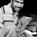 Grinning Man @ India