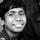 Young Man Smiles @ India