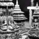 Meditating Buddhas @ Nepal