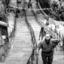 Stairway At Swayambhunath @ Nepal