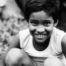 Bashful Smile Of A Boy @ India